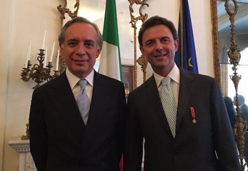 Knight of the Order of the Star of Italy,